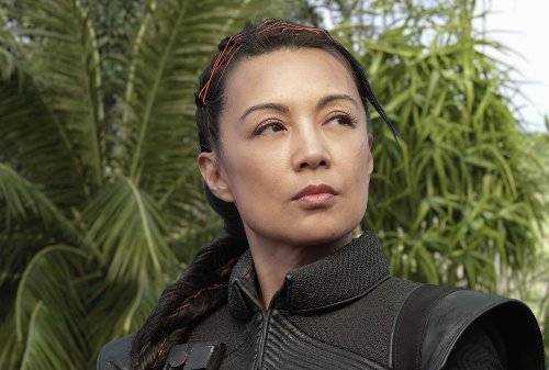 We raise a glass of blue milk in Ming-Na Wen's honor #MayThe4thBeWithYou