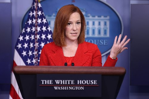 Jen Psaki has the perfect response to a Republican senator's baffling attack on Joe Biden