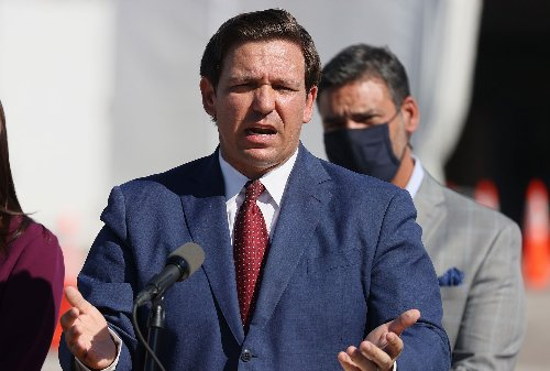 Ron DeSantis got caught lying at his bill signing. He blocked all media but Fox News at his next one