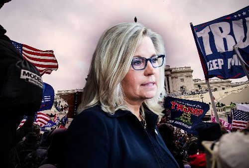 Liz Cheney is an enemy of democracy — just as much as the Trumpers