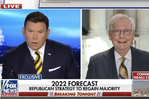 Mitch McConnell caught off guard as Fox host grills him on GOP support for Trump's election lies