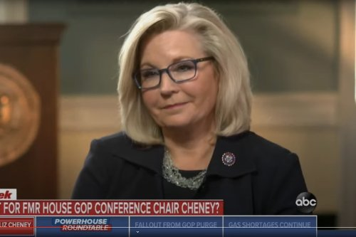 Liz Cheney says Republican colleagues voted her out because of 'threats on their lives'