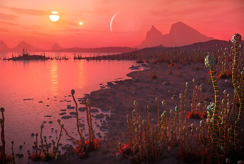 Our galactic neighbor may harbor a warm, gaseous planet in its habitable zone
