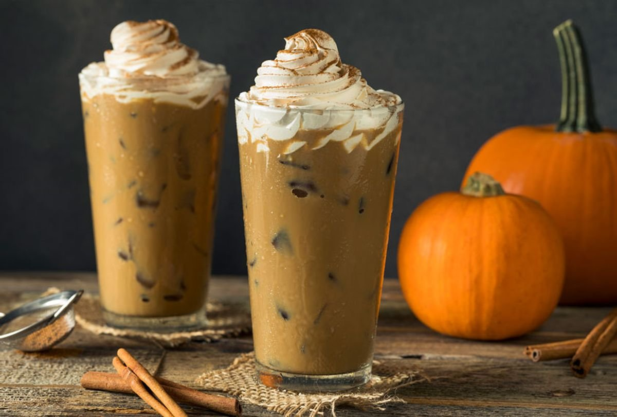 How to make a your own Starbucks pumpkin cream cold brew at home