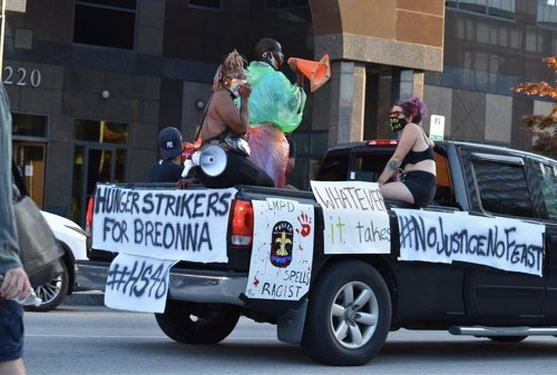 No justice, no feast: How hunger strikers are keeping the protest over Breonna Taylor's death alive