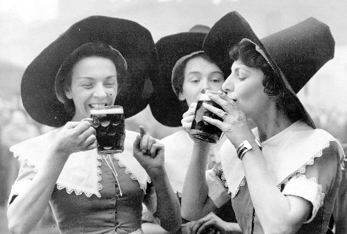 Women used to dominate the beer industry — until the witch accusations started pouring in