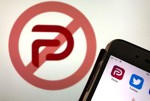 Supporters finally appear to be giving up on Parler following extended blackout