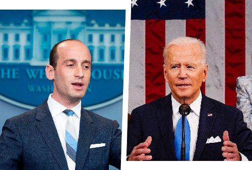 Stephen Miller is suing Joe Biden for discrimination against white people