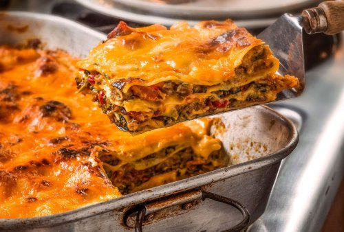 Trisha Yearwood and Garth Brooks both love a late breakfast. This lasagna ticks all the yummy boxes