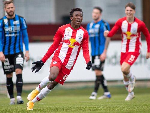 FC Liefering siegt in Amstetten
