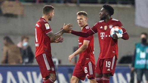 Rot und Gegentor in Fürth: FC Bayern legt mit 3:1 vor