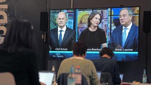 TV-Triell: Streit um Reform des Sozialsystems