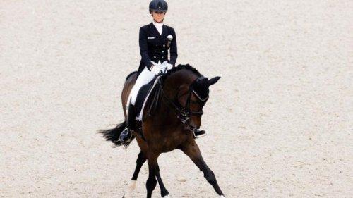 Auch ohne Gold-Pferde: Deutsches Dressur-Team führt