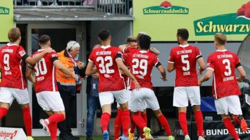 3:0-Sieg: Freiburg feiert Abschiedsparty im Dreisamstadion