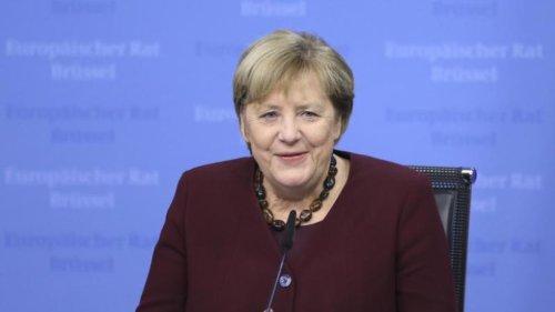 Merkel ermutigt Frauen in der Politik