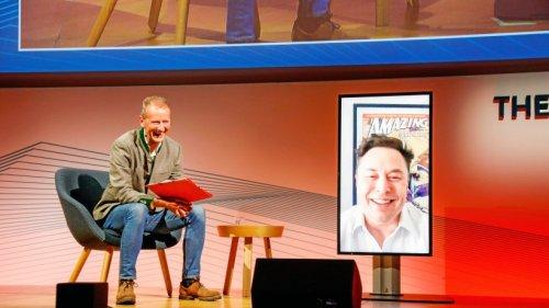 Tesla-Chef Musk spricht bei VW-Tagung vor Top-Managern