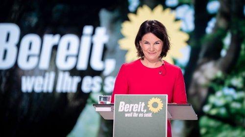 Bundestagswahl: Grüne sinken in der Wählergunst deutlich