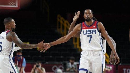 US-Basketballer mit erstem Sieg in Tokio