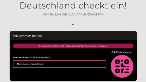 Luca-App: Peng Kollektiv hackt Corona-Kontakte-App