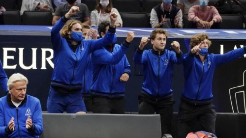 Siegen und scherzen: Zverev führt Europa zu Laver-Cup-Sieg