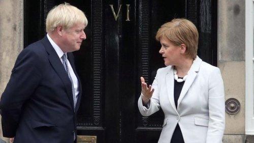 Polit-Eiszeit: Johnson brüskiert Schottlands Sturgeon