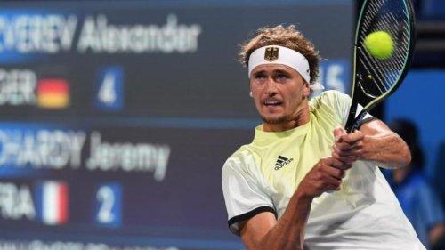 Medaillenchance in Tokio: Zverev fordert Djokovic heraus