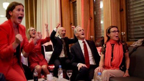 Sozialdemokraten jubeln in Norwegen