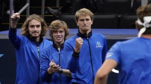 Laver Cup: Zverev verliert im Doppel - Europa führt 3:1