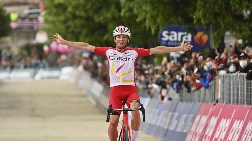 Arndt Dritter auf achter Giro-Etappe - Franzose Lafay siegt