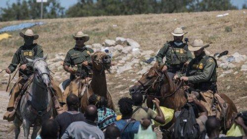 Riesiges Migrantencamp in Del Rio - USA schieben Menschen ab