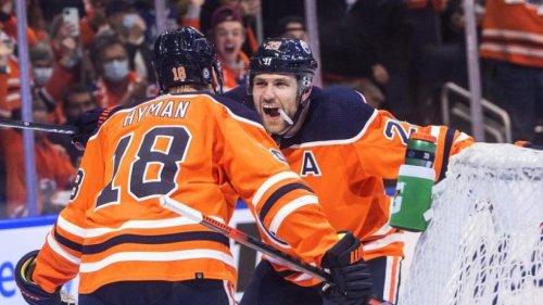 Draisaitl mit drei Vorlagen bei Oilers-Sieg