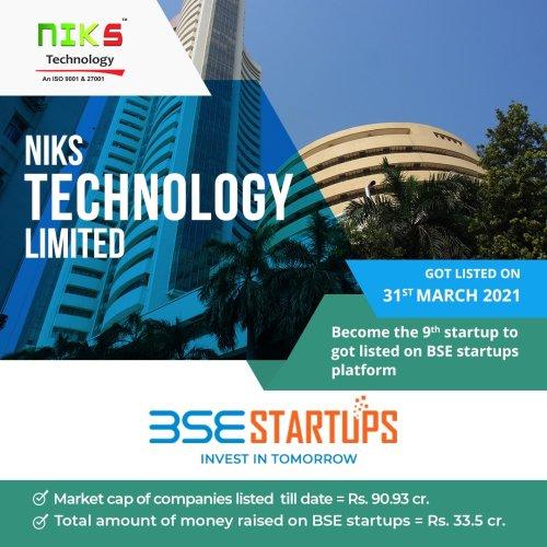 बिहार की पहली BSE लिस्टेड स्टार्टअप कंपनी Niks Technology Ltd ने अपने इन्वेस्टर्स को दो महीने में दिया 10% का रिटर्न