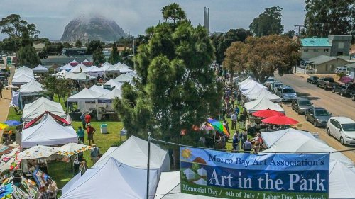 Morro Bay Art in the Park returns for first time in 20 months