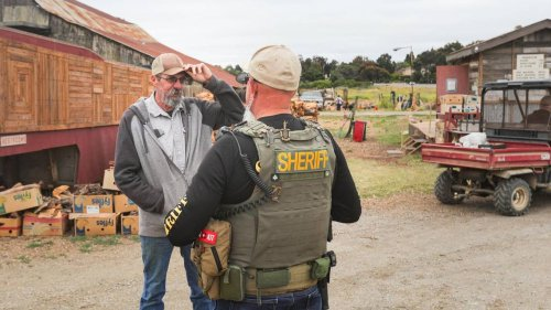 County code enforcement officers inspect Sunny Acres sober-living facility outside SLO