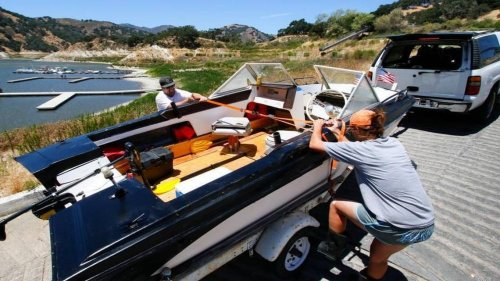 Will Lopez Lake boat ramp close early this summer? Water levels are dropping drastically