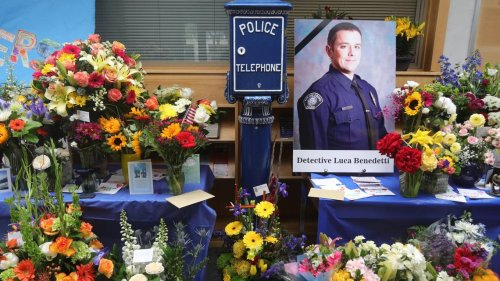 Tributes, GoFundMe page honor SLO police detective killed in the line of duty