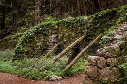 Abandoned Lime Kilns in Santa Cruz County