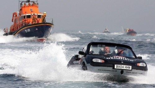 100mph Boat Car