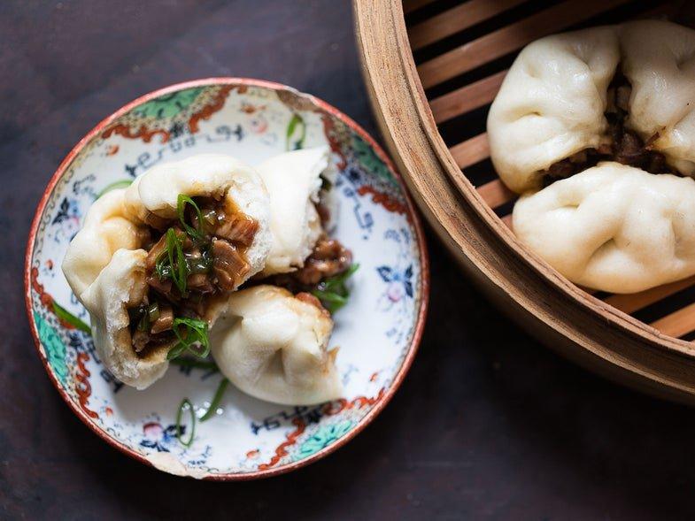 Chinese Steamed Pork Buns (Char Siu Bao)
