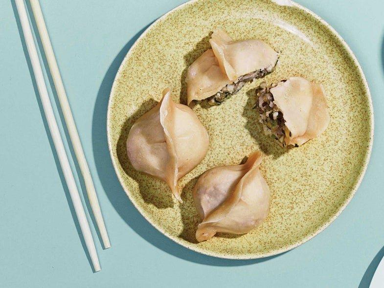Steamed Mixed Shellfish Dumplings