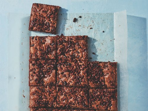 Cacao Nib Brownies