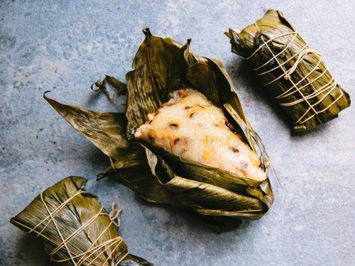 Chinese Sticky Rice Dumplings (Zongzi)