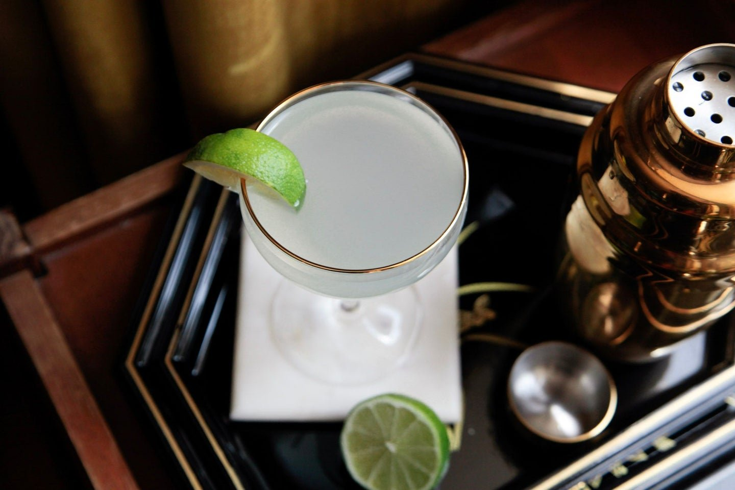 Dissecting the classic gin gimlet - cover