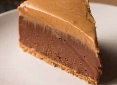 Discover chocolate cheesecake
