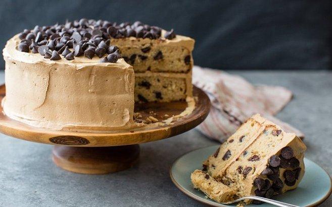 Mocha Chocolate Chip Cake Recipe