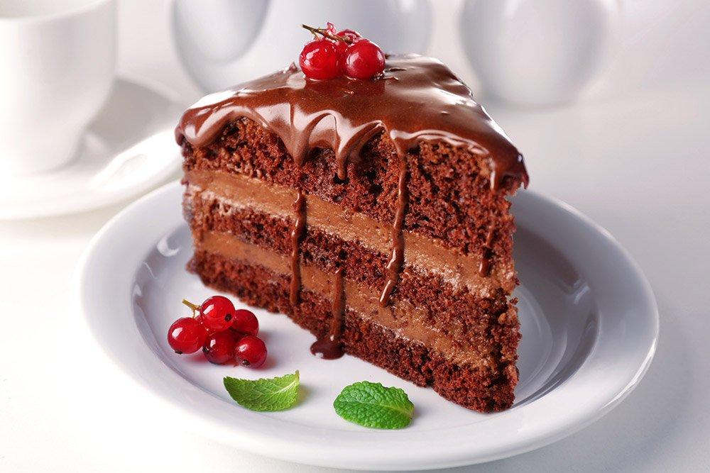 Dark Chocolate Mousse Cake Recipe