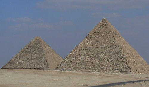 Climbing Inside an Egyptian Pyramid