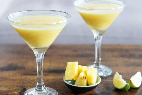 Blended Pineapple Daiquiri Recipe
