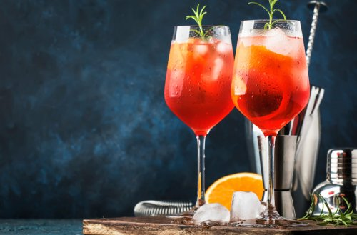 Select Spritz (the Spicier Spritz)