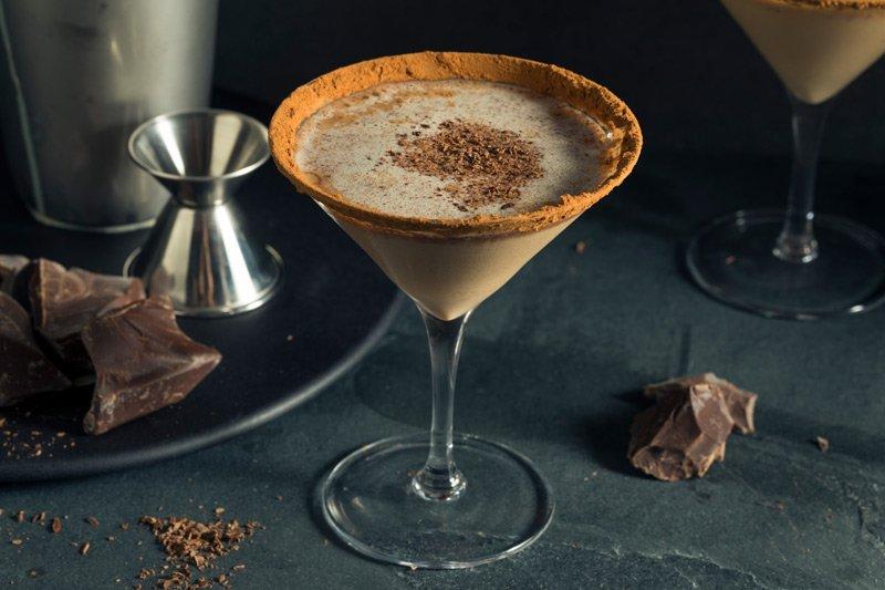 Decadent Godiva Chocolate Martini